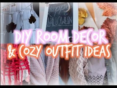 DIY Fall Room Decor + Cozy Outfit Ideas!