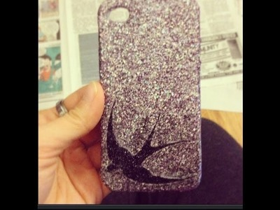 DIY : Glitter Phone Case!