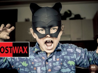 DIY Mask for Catwoman costume tutorial