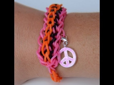 DIY Tutorial - Twisty Wistzy CREASTIC BRACELET loom