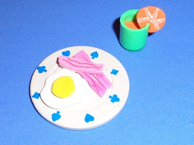 Doll and LPS Food - How to Make a Doll or LPS Breakfast