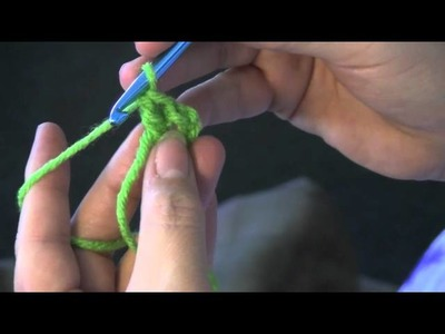 Double crochet flower tutorial.m4v