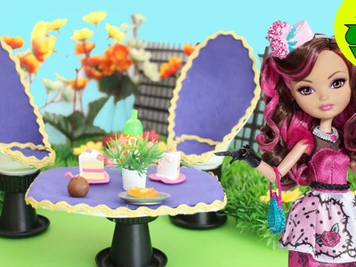 Garden Chairs and table- Doll Crafts