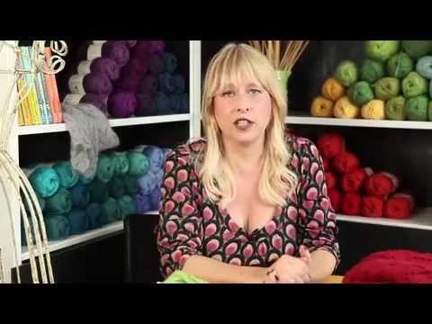 How to Knit Lace with Yarnovers - Stitch 'N Bitch TV