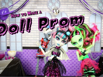 How to Make a Doll Prom - Doll Crafts