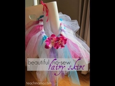 How to make a no-sew fairy skirt (or a fancy tutu) :: crafts :: teachmama.com