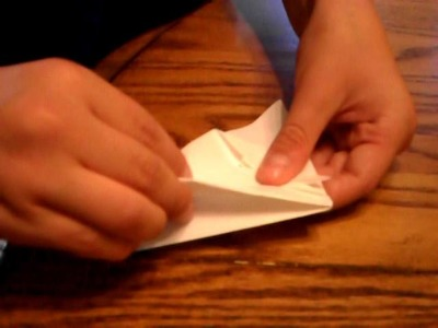 How to Make a Origami X-Wing Fighter Plane