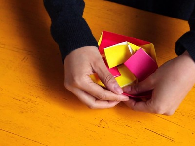 How to Make a Small Patterned Origami Gift Box