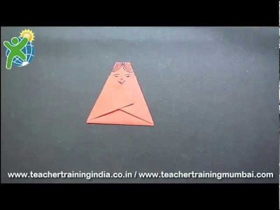 How to make an Origami Doll