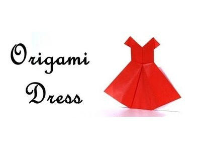 How to make an Origami Dress