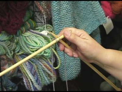 Knitting Instructional Video:  How to do a Cable Cast On