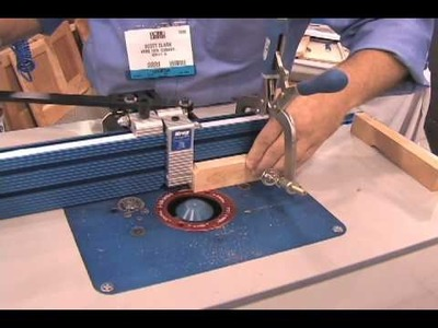 Kreg Makes Beaded Base Frames Simple and Affordable - AWFS 2009