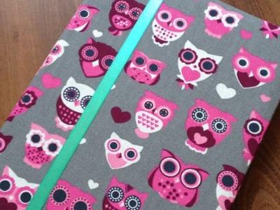Make a Cute Fabric Agenda Cover - DIY Crafts - Guidecentral