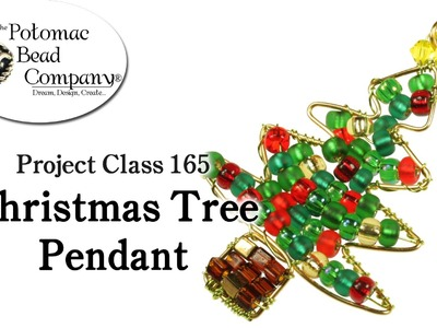 Make a Wire Christmas Tree Pendant