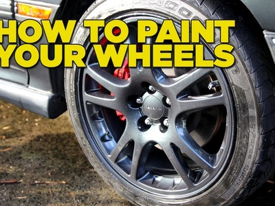 Mighty Car Mods - How to paint your wheels