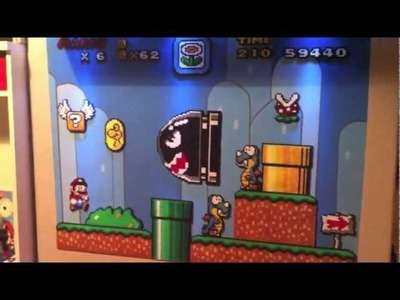 My Games Room - Nintendo Perler Bead Super Mario World Sprite Wall