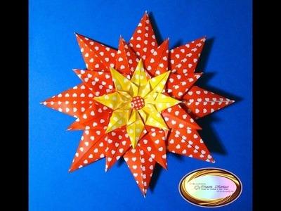 Origami Maniacs 108: Scrapbook Valentine Flower
