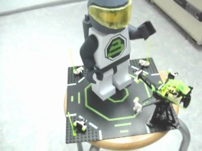 Papercraft LEGO Blacktron II minifig