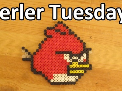 PERLER BEAD: Angry Bird! (Giveaway #66) Tutorial & How To
