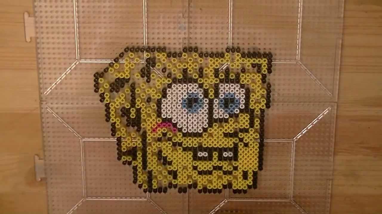 PERLER BEAD: SpongeBob SquarePants! (Giveaway #49) Tutorial & How To