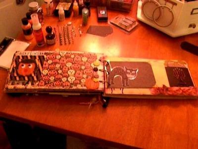 Scrapbook Halloween Mini Album