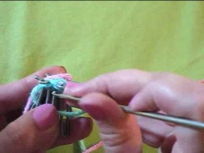 Small Knitting Loom How to