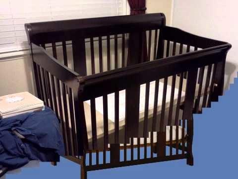 Stork Craft Tuscany 4 in 1 Baby Crib