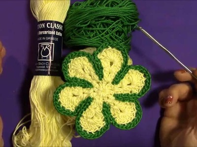 That 70's Flower ~ Crochet Tutorial