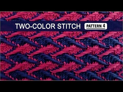 Two-color Stitch Pattern #4 - 3.22.2015