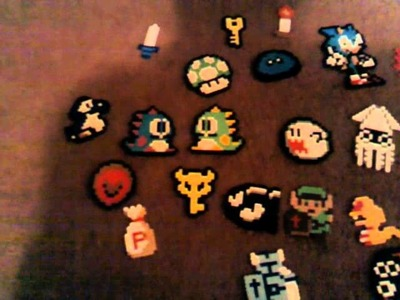 Video game perler beads