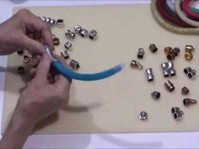 Antelope Beads - How to Make Jewelry with 10mm Nylon Round Beading Cord