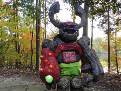 Awesome DIY Tree Rex (Skylanders) Costume for a 5 Year Old Boy