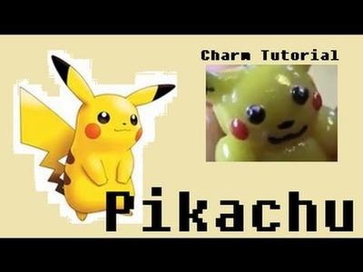 Clay super cute Pikachu - Tutorial