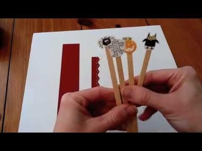 Cool paper Crafts: How to Make a Halloween Puppet Show Card