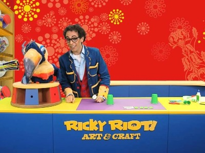 Create your very own Crocodile | Ricky Riot Art & Craft