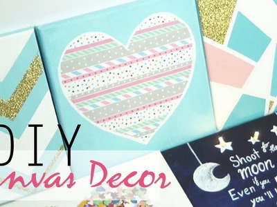 DIY: 5 Easy Canvas Decor & Gift Ideas