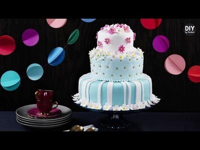 DIY by Panduro: Bake a tiered cake
