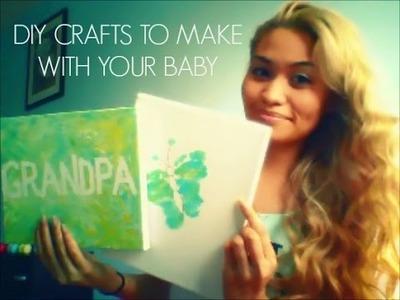 DIY Crafts With Baby