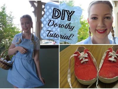 DIY Dorothy Halloween Tutorial | Lexie