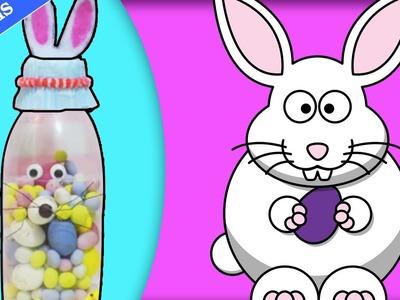 DIY Easy Easter Crafts: Easter Bunny Bottle | Comment Faire Bouteille Lapin de Pâques