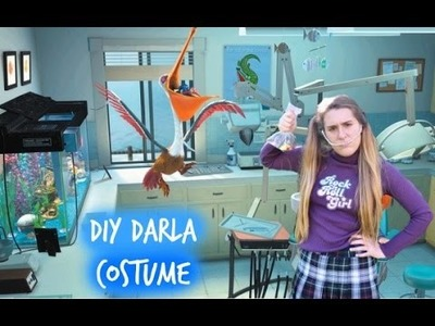 DIY Finding Nemo Darla Costume! Easy & Affordable!