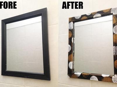 DIY Frame Upcycle Home Decor