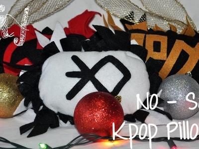 DIY | No - Sew Kpop Pillows {Christmas Gift Idea}
