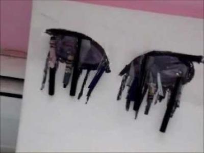 "DIY: Room Decor ""Crying Eyes."" (Crayon Melting)"