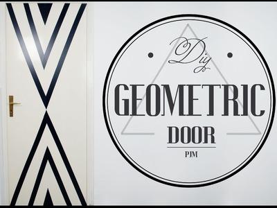 DIY Room Decor - Geometric Door - PJM (Coll. con EnglishRoseAddicted)