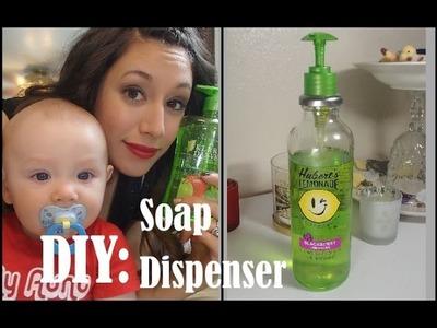 DIY: Soap Dispenser(Snapple Bottle)