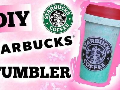 DIY Starbucks Tumbler