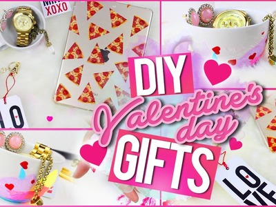DIY Valentine's Day Gifts: iPad Case, Watercolor Mug & More!