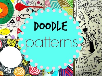 Doodle Pattern Art Journal