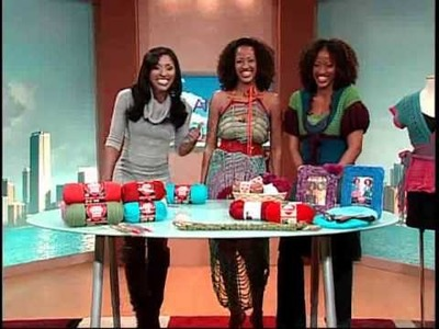 Double Stitch Twins on The Balancing Act Lifetime TV Show
